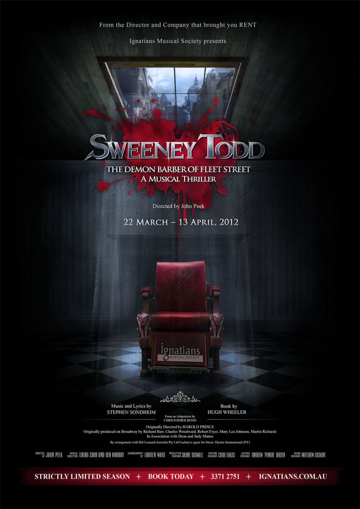 "an introduction the musical sweeney todd Start by marking ""sweeney todd: i especially enjoyed the introduction by christopher bond  singing the music for sweeney was crazy."