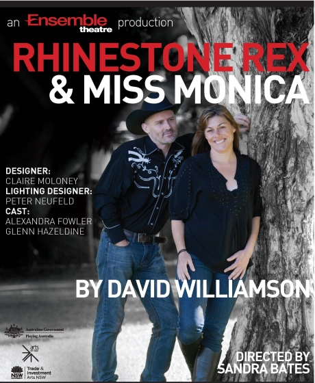 Rhinestone Rex and Miss Monica
