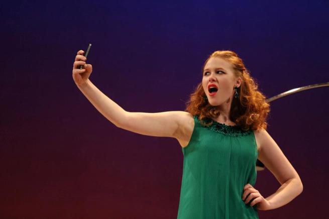 Anna McGahan Managing Carmen