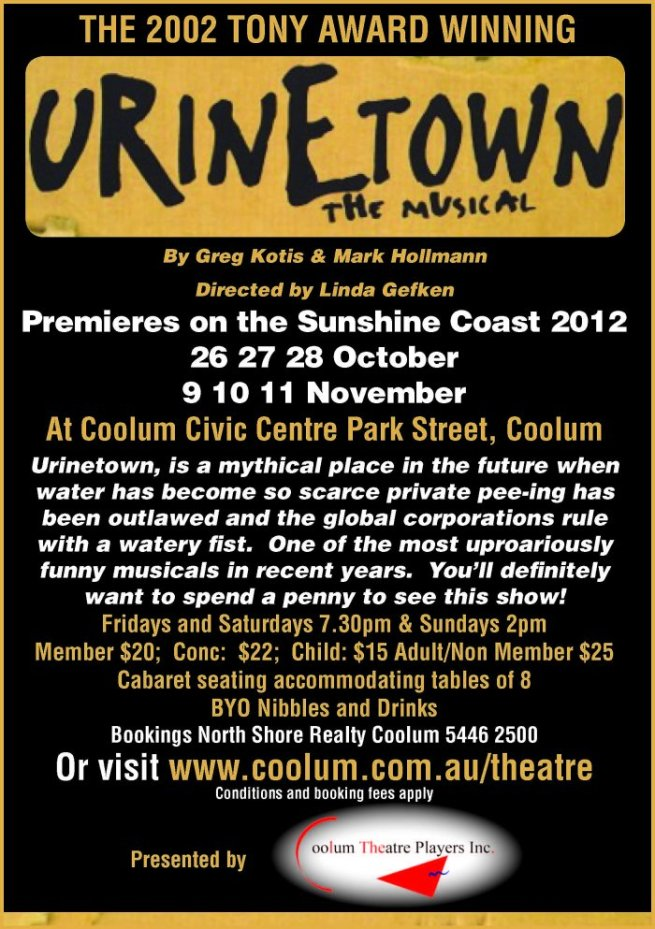 Urinetoen Coolum Theatre Players