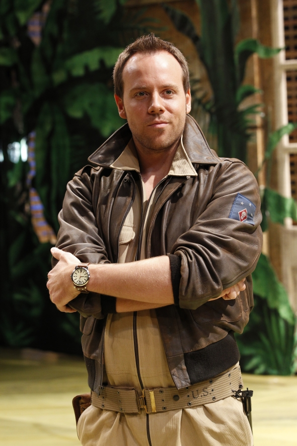 Daniel Koek as Lieutenant Cable. Image by Jeff-Busby.