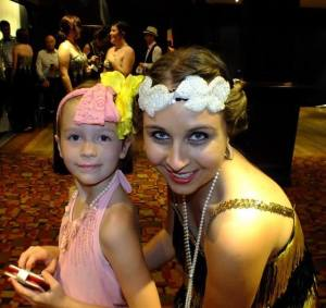 Poppy & Marina de Jager at The Great Gatsby Fundraiser 2013