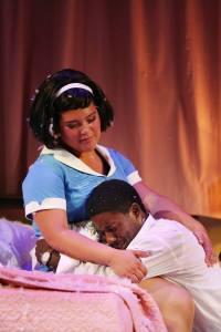 Candy Bowers and Pacharo Mzembe. The Mountaintop. Image by Rob Maccoll