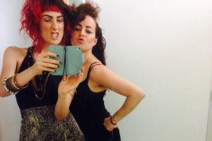 emmadean&francesca_songsofloveandwar_selfie