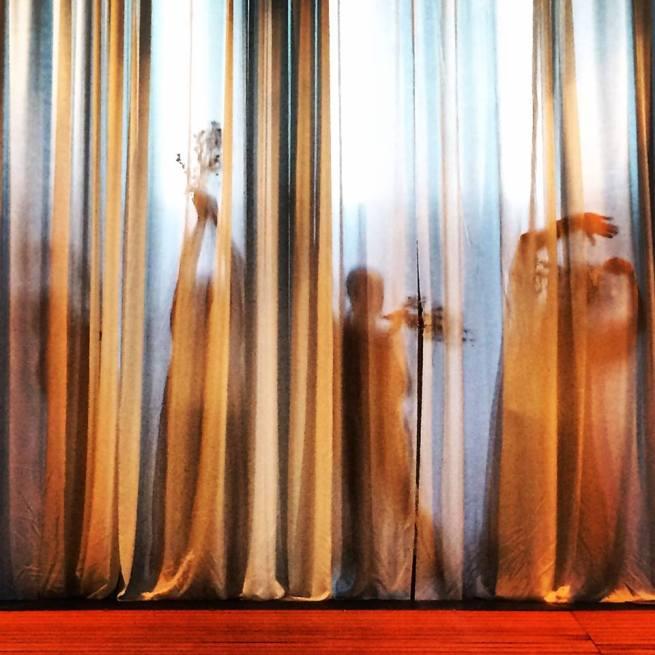 AWAY Fairies Behind Curtains