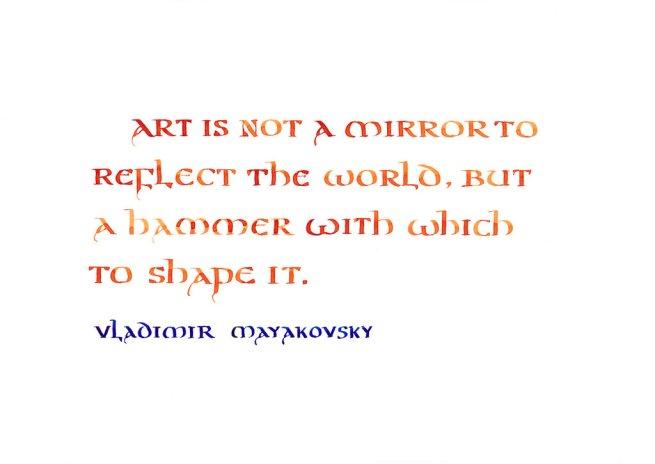 artisnotamirror_mayakovsky