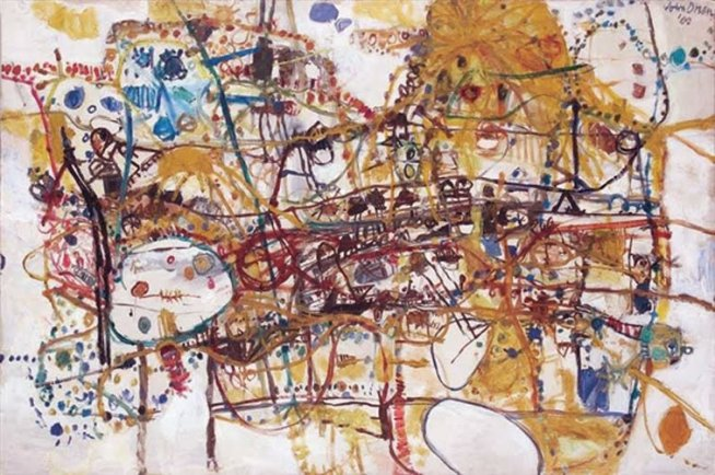 The People Who Live in Victoria Street John Olsen 1960
