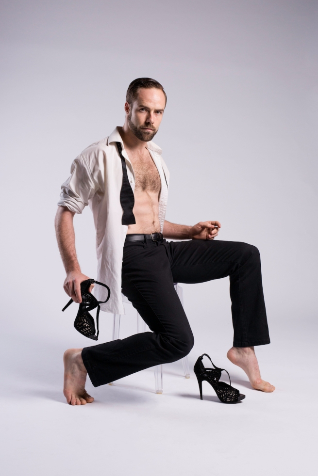 Natalie Weir's Behind Closed Doors. EDC. Image shows EDC's Richard Causer 2. Image by Jeff Camden COLOUR.low res. jpg