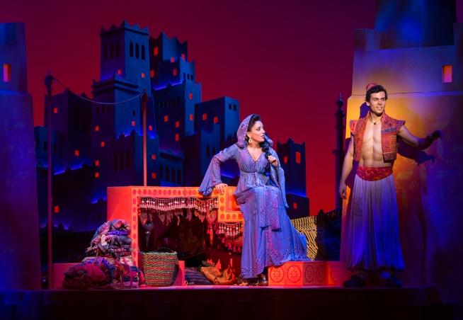 Princess Jasmine & Aladdin. Image by Deen Van Meer.
