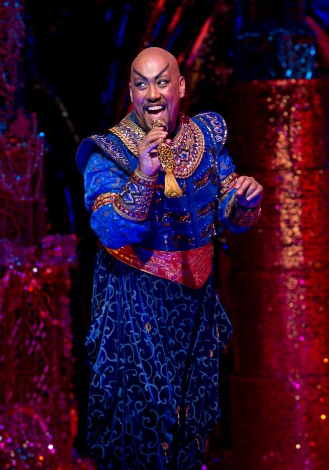 Genie (Gareth Jacobs). Image by Jeff Busby.