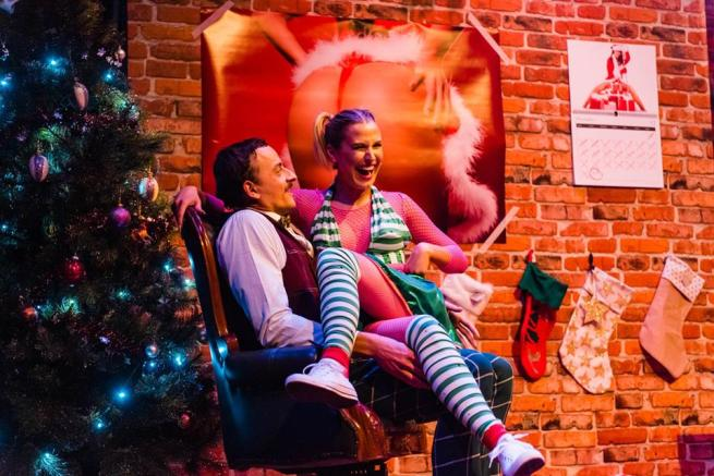 Elliot Baker & Sophie Christofis. A Very Naughty Christmas.